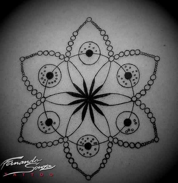 desenho de flor de lotus