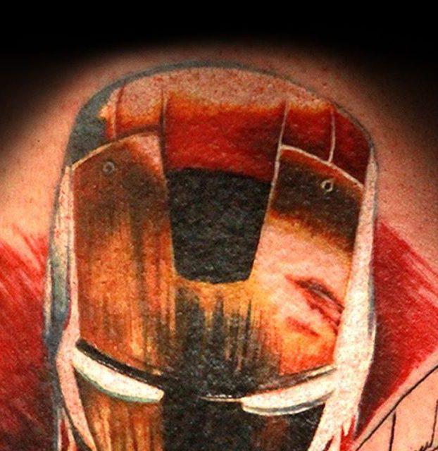 homem de ferro colorido