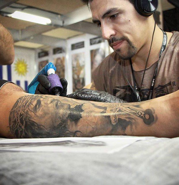 jesus cristo por fernando souza tattoo