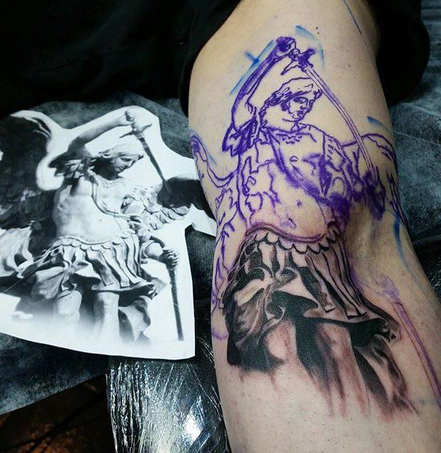 pagamento de um decalque tatuagem