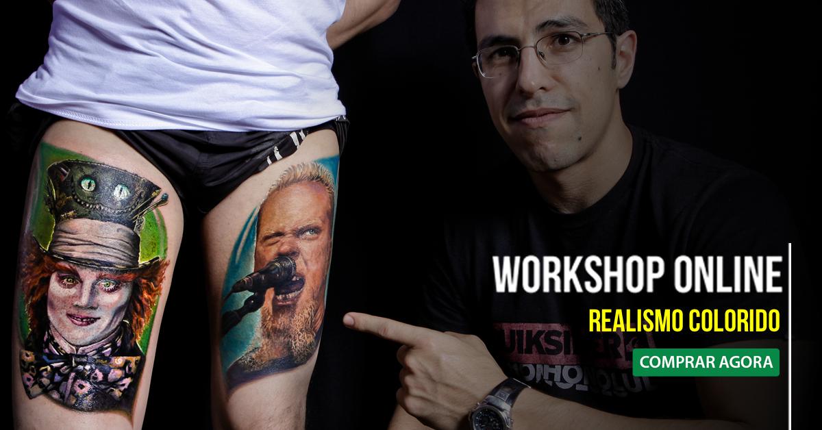 Aprenda Aqui como fazer desenhos reais na pele