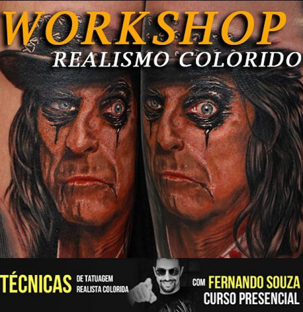 workshop realismo colorido com fernando