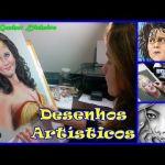 DESENHOS ARTÍSTICOS REALISTAS, Como Desenhar Pessoas, Paisagens, Animais, Celebridades…  – FULL HD