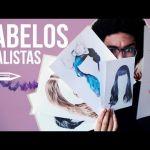 Como desenhar cabelo realista | Avenue Drawings