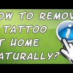 Como remover uma tattoo em casa naturalmente? How To Remove a Tattoo At Home Naturally?