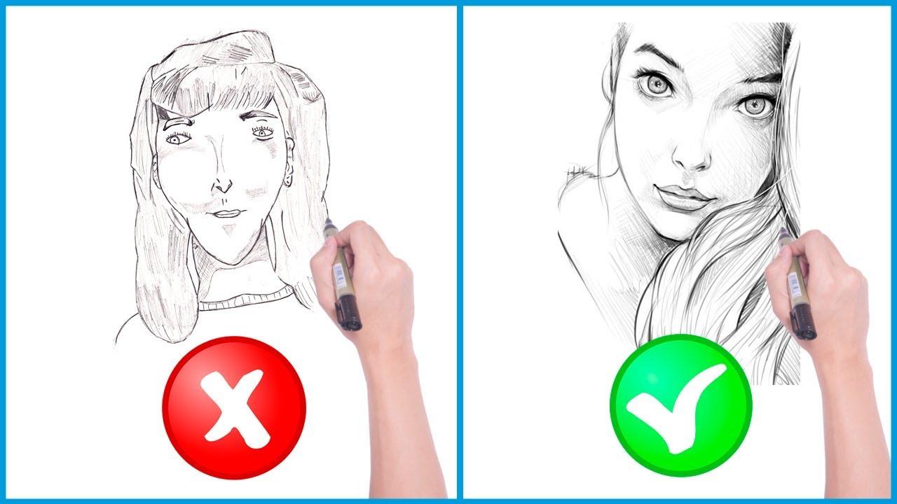 Desenhos Tumblr De Mão Estalando Como Fazer: Como Fazer Os Traços Iniciais Para Um Desenho Realista