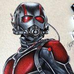 Drawing Ant Man | Desenhando o Homem Formiga