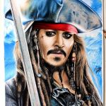 Drawing Captain Jack Sparrow / Desenhando o Capitão Jack Sparrow
