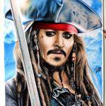 Drawing Captain Jack Sparrow / Desenhando o Capitão Jack Sparrow