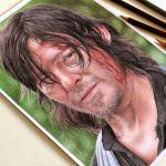 Drawing Daryl Dixon | Desenhando Daryl Dixon – The Walking Dead