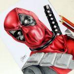 Drawing Deadpool | Desenhando o Deadpool