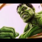 Drawing Incredible Hulk | Desenhando o Incrível Hulk