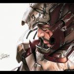 Drawing Iron Man / Desenhando o Homem de Ferro (Marvel)