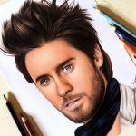 Drawing Jared Leto | Desenhando o Jared Leto