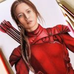 Drawing Katniss – Jogos Vorazes ( The Hunger Games )
