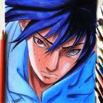 Drawing Sasuke | Desenhando o Sasuke – AnimeSuper #1