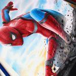 Drawing Spider Man – Homecoming / Desenhando o Homem Aranha
