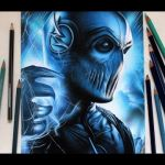 Drawing Zoom | Desenhando o Zoom  – The Flash