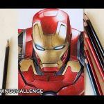 Guerra Civil – Drawing Challenge ( Iron Man )