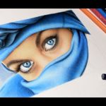 Speed Drawing – Blue Eyes