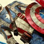 Speed Drawing: Capitão América