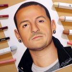 Speed Drawing: Chester Bennington | Linkin Park