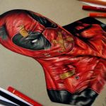 Speed Drawing: Deadpool