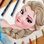 Speed Drawing: Elsa