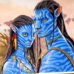 Speed Drawing: Neytiri and Jake Sully | Avatar