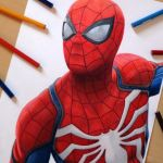 Speed Drawing: Spider-Man (Playstation 4 Game)