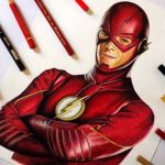 Speed Drawing: The Flash