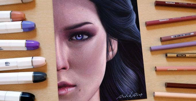 Drawing Yennefer The Witcher 3 Tattoo Blog