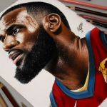 Desenhando o LeBron James (Speed Drawing)