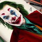Desenhando o Coringa – Joker (Speed Drawing)