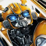 Desenhando o Bumblebee – (Speed Drawing)